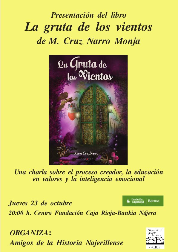 Cartel Libro M C Narro